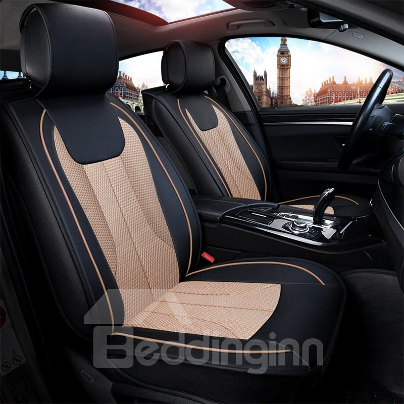 Antique Water-proof Exquisite Leather Universal Car Seat Covers