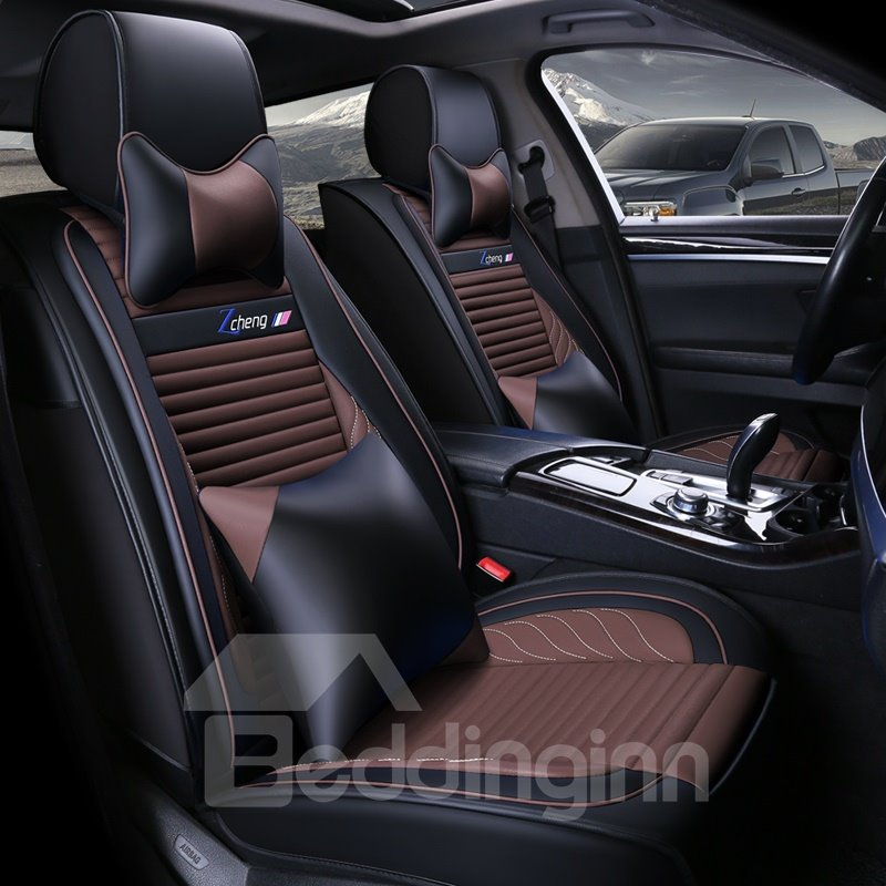 Color Blocking Showy Superb Elaborate Universal Car Seat Covers