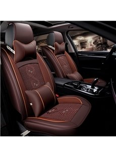 Traditional Pattern Wrinkle-free Serviceable Universal Car Seat Covers