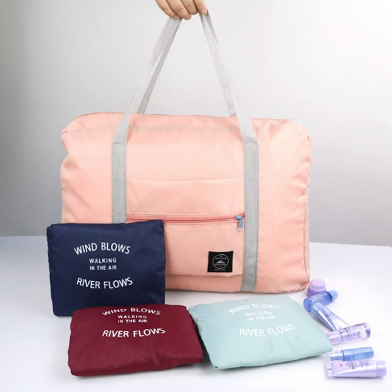 Image For Travel Lightweight Waterproof Foldable Storage Carry Luggage Tote Bag