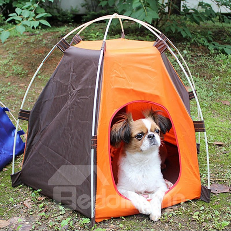 39 Outdoor Portable Dog Cat Waterproof House C&ing Foldable Pet Tent & Outdoor Portable Dog Cat Waterproof House Camping Foldable Pet ...