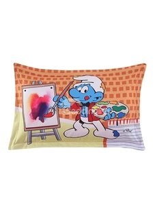 Painter Smurf the Smurfs Village Artist One Piece Bed Pillowcase
