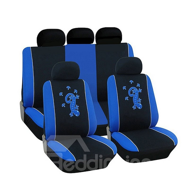 Water-proof Wrinkle-free Gecco Pattern Funny Cloth Universal Car Seat Covers