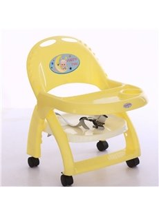 Portable Multifunction Colorful Indoor Outdoor High Baby Booster Chair