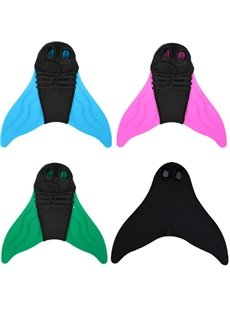 Mermaid Tail Fin Reliable Training Swim Flippers for Adults