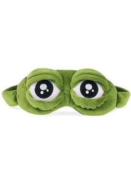 Funny Frog Sleeping Eye-Shade Blindfold Nap Cover Eye Mask