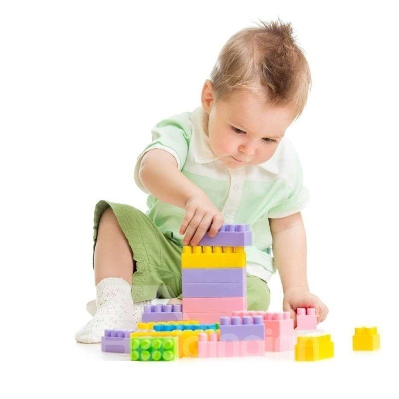 Environmental Plastic Intelligence 144-Piece Toys/Building Blocks