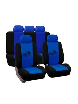 Environment-friendly Washable Durable Wecker Pattern Cloth Universal Car Seat Covers