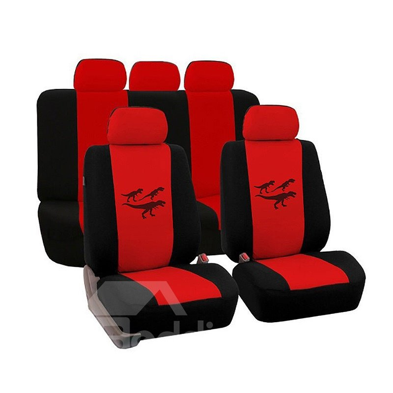 Environment-friendly Washable Durable Dinosaur Pattern Cloth Universal Car Seat Covers