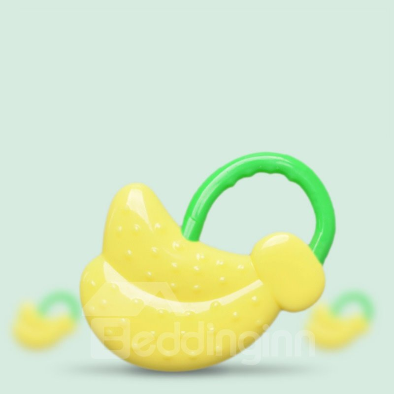 Silicone Little Banana Shaped Soothing Baby Teething Toy