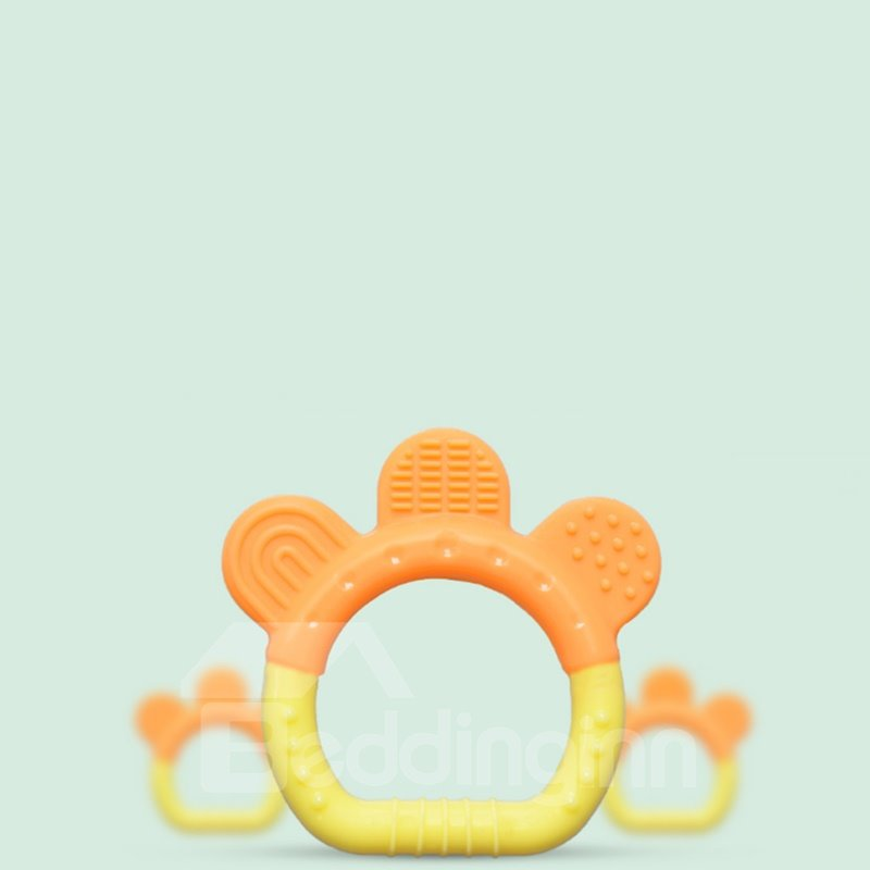 Silicone Bell Shaped Soothing Baby Teething Toy