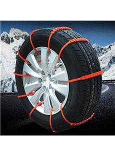 20 PCS Portable Anti-skid Emergency Traction Car Aid Anti-slip Chain