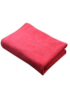 Microfiber 2 Piece Suede Car Cleaning Towels