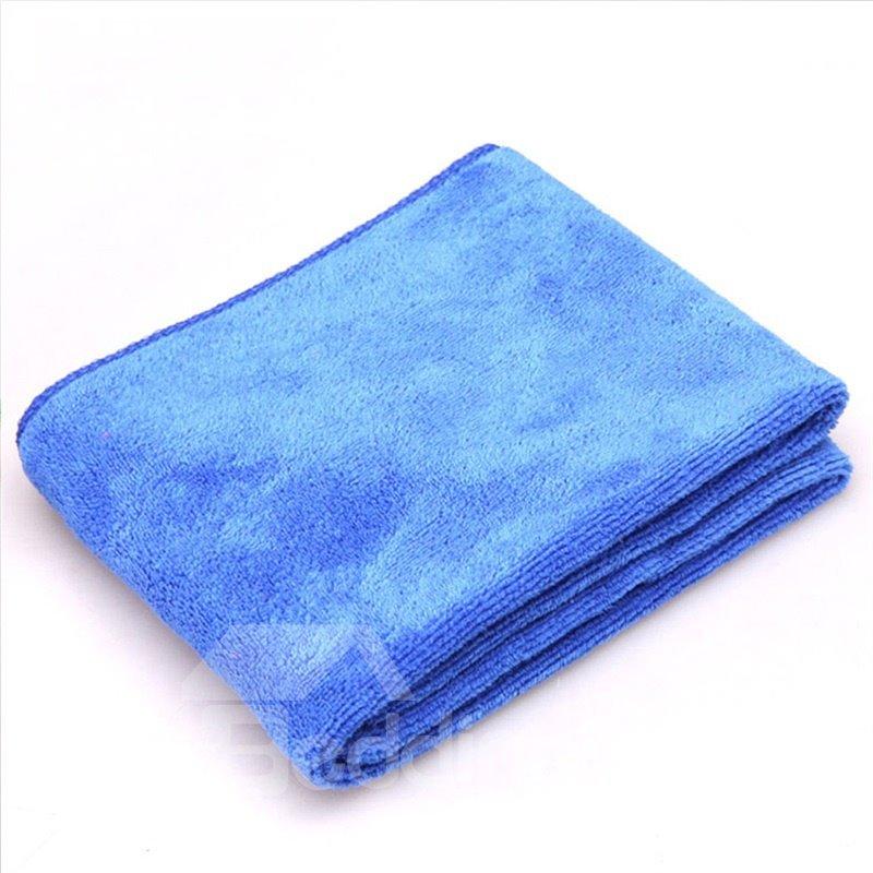 Queen-size Microfiber 2 Piece Suede Weave Finish Towels