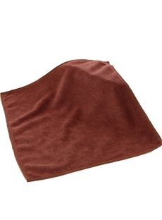 Square Microfiber 2 Piece Suede Weave Finish Towels