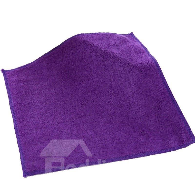 Square Microfiber 2 Piece Suede Weave Finish Towels