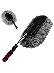 Multipurpose Microfiber 2 Piece Car Duster Brush