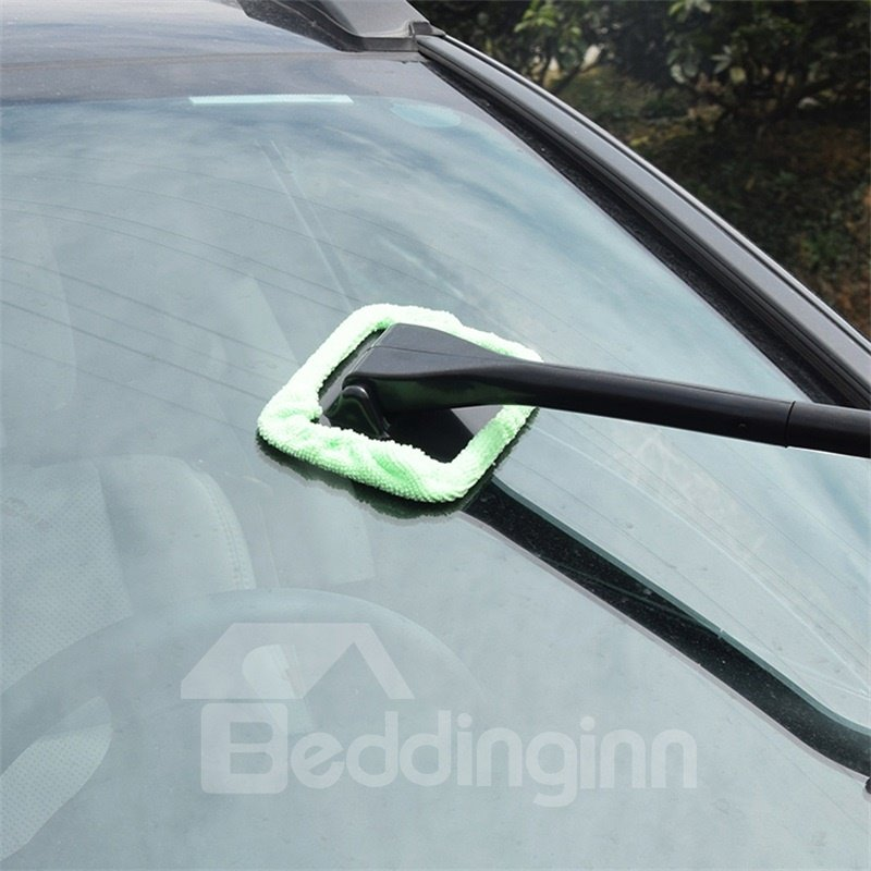 Simple and Easy To Use Interior and Exterior Microfiber Car Brush