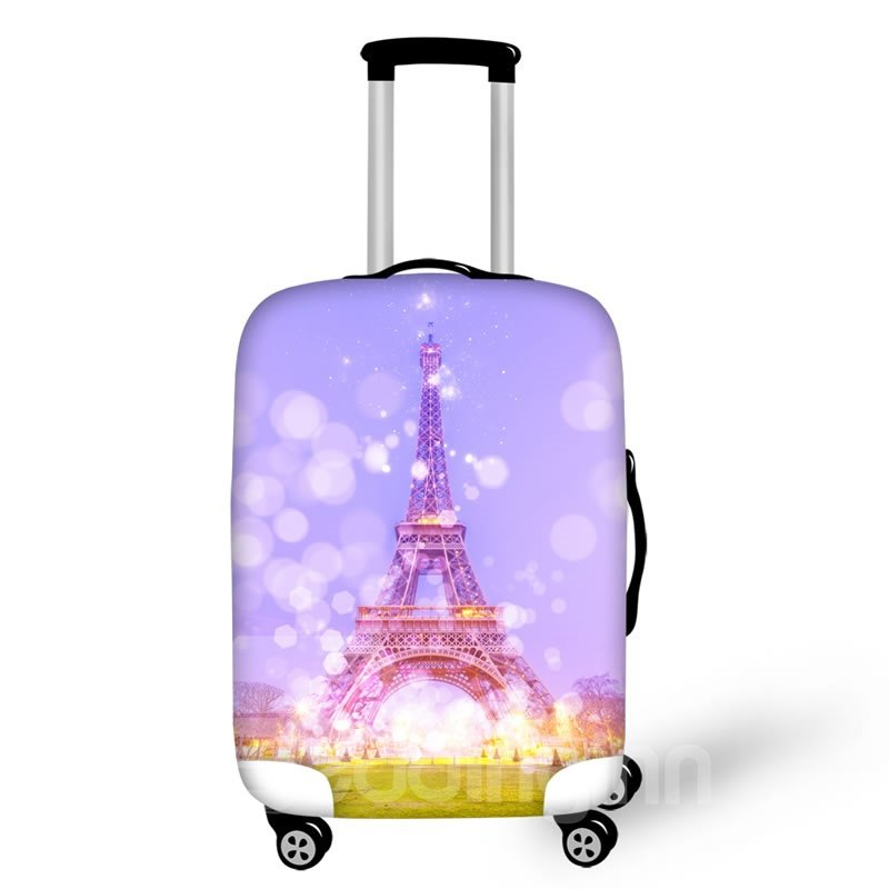 Eiffel Tower Dream Waterproof Luggage Suitcase Protector for 19 20 21