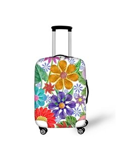 Floral Plant Spring Waterproof Suitcase Protector for 19 20 21