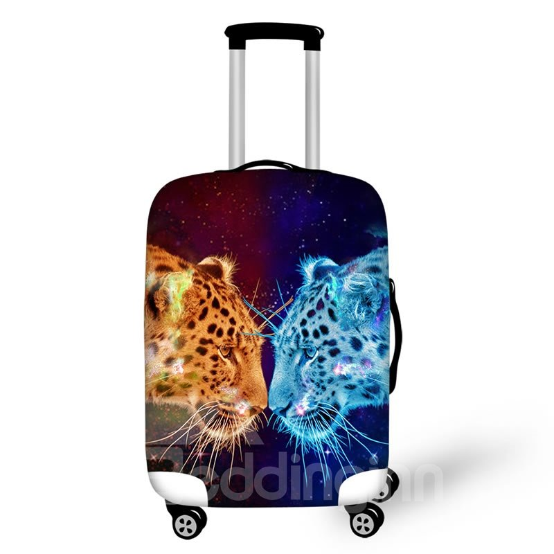 Two Leopard Waterproof Luggage Suitcase Protector for 19 20 21