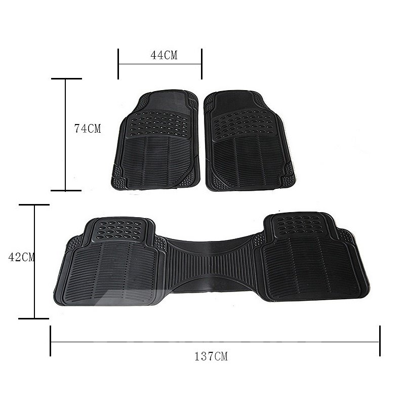 Functional Serviceable Water-proof Exquisite 3-Pieces Universal Car Seat Cover