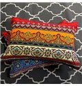 Chic Bohemia Style Floral Pattern Polyester 4-Piece Bedding Sets/Duvet Cover