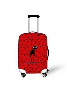 Sexy Miss Cat Waterproof Luggage Suitcase Protector for 19 20 21