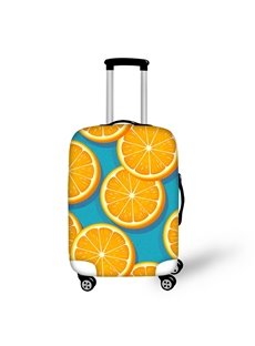 Orange Pattern Summer Waterproof Luggage Suitcase Protector for 19 20 21