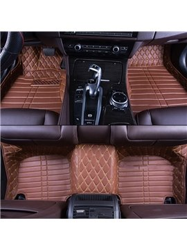 Classic Various Shapes Of Pattern Design Custom Fit Car Floor Mats