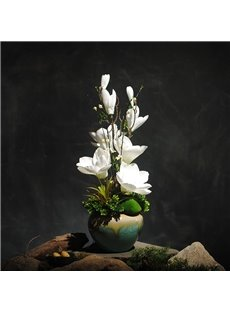 Artificial Flowers Potted Plants Silk Wedding Bouquets