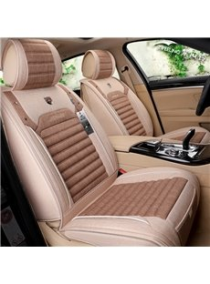 Refreshing Flax Material F-Series Ram Tacoma Sierra Silverado Colorado Etc Universal Truck Seat Covers