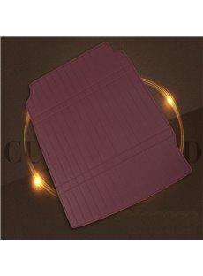 Simple Design Super Cost-effective Leather Burgundy Custom Car Trunk Cushion