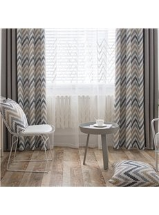 Elegant and Nordic style Modern and Concise Custom Living Room Sheer Curtain