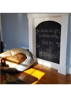 Divertingness and Creative Blackboard Removable Chalkboard Home Decorative Wall Sticker