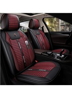 5-Seater Wear Resistant Leather And Ice Silk Material Steady Ripe With Good Protection Universal Truck Seat Covers/Also Suitable For Ordinary 5-Seater Cars