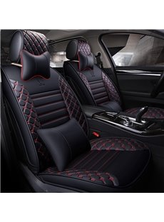 Bursting With Passion Different Patterns Leather Universal Car Seat Covers
