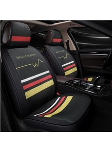 Three Colors Collection Geometric Image Universal Car Seat Covers