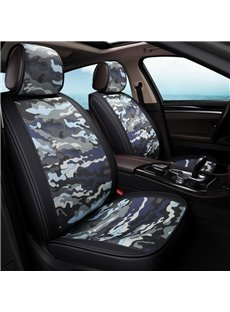 Simple Design Camouflage Pattern Universal Car Seat Covers