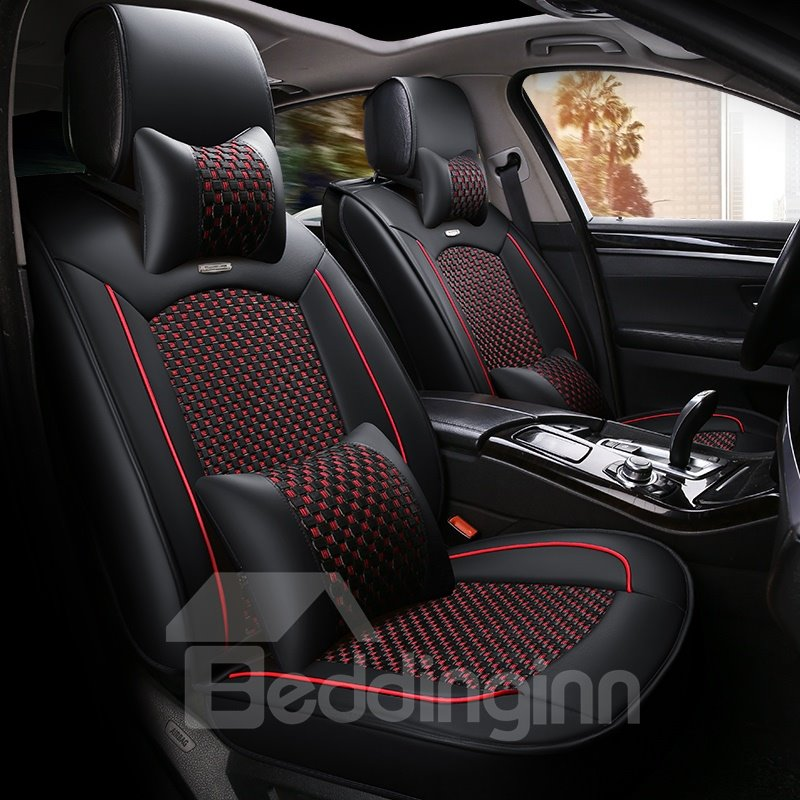Mesh Cloth Cool Designed Universal Car Seat Covers Pic