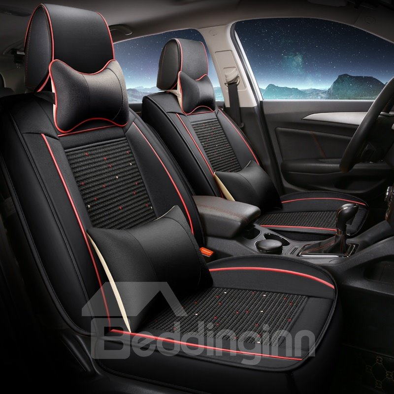 41 Leather ProfessionalHuman Mechanics Design Universal Five Car Seat Covers