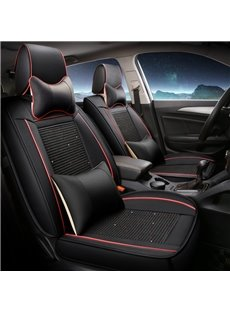 Leather Professional&Human Mechanics Design Universal Five Car Seat Covers