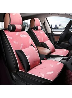 Pink Princess Style Super Cute Universal Five Car Seat Covers