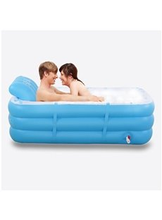 Romantic and Elegant Multi-Function Design Removable Coverd Inflatable Couples Bathtub