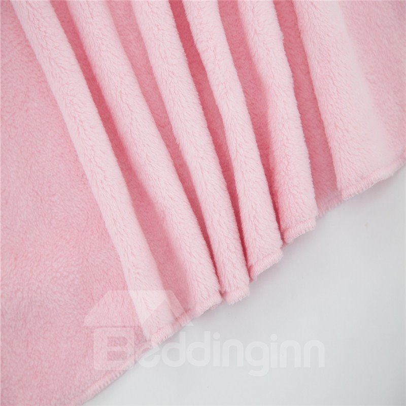 Crystal Velvet Fabric Comfortable Newborn Baby Square Blanket