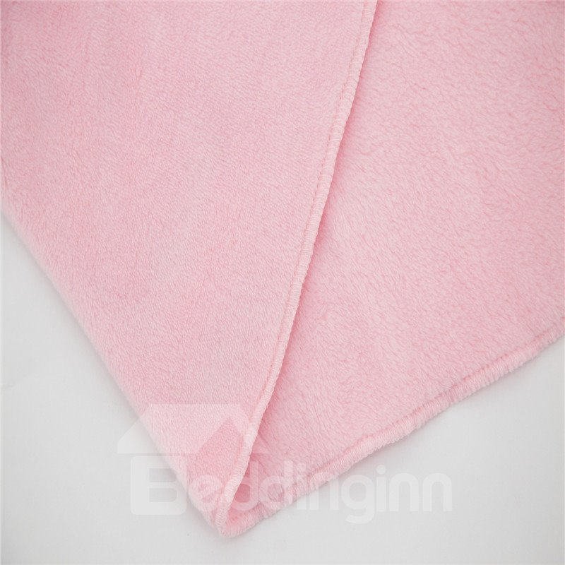 Cute Animal Style Crystal Velvet Fabric Baby Square Blanket