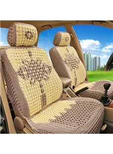 Chinese Knot Pattern Superexcellence Knit Refreshing Universal Car Seat Cover