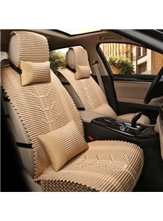 Superexcellence Knit Pure Color Refreshing Universal Car Seat Cover