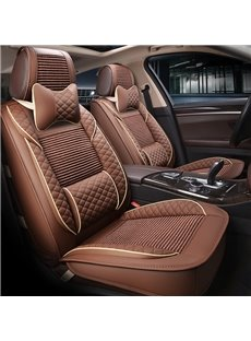 Classic Designed For Comfort Breathable Linen Universal Car Seat Covers