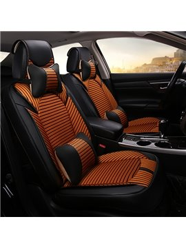 Futuristic Design Color Blocking Durable Universal Car Seat Covers